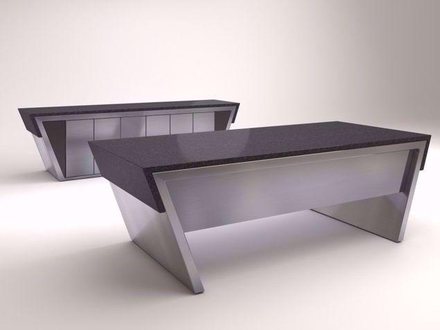 Messina Desk Credenza set