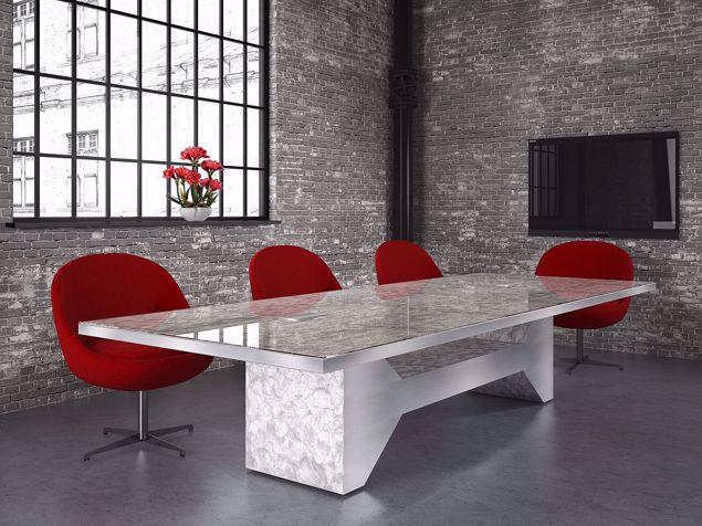Jasper Modern Conference Table room scene