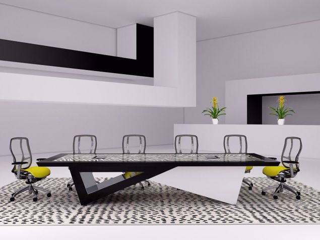 Barcelona Modern Conference Table Main