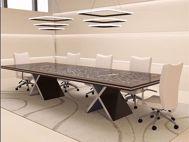 Markham Modern Conference Table Room Scene